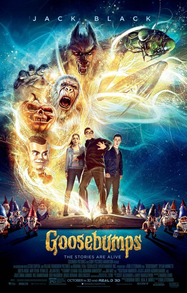 Goosebumps Movie 2015