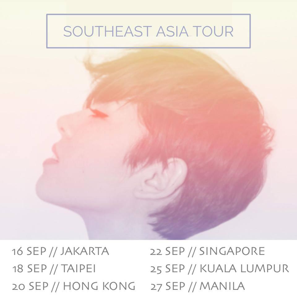 Kina Grannis Southeast Asia Tour