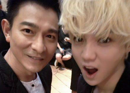 Source: Luhan's Weibo