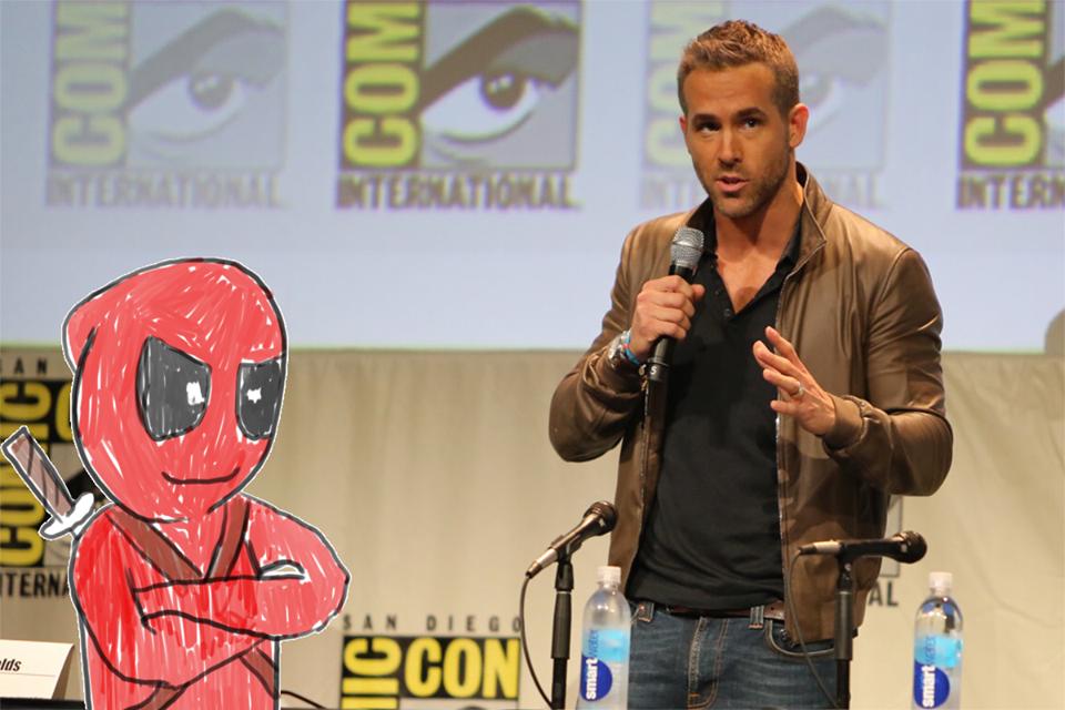 Ryan Reynolds - Deadpool - SDCC