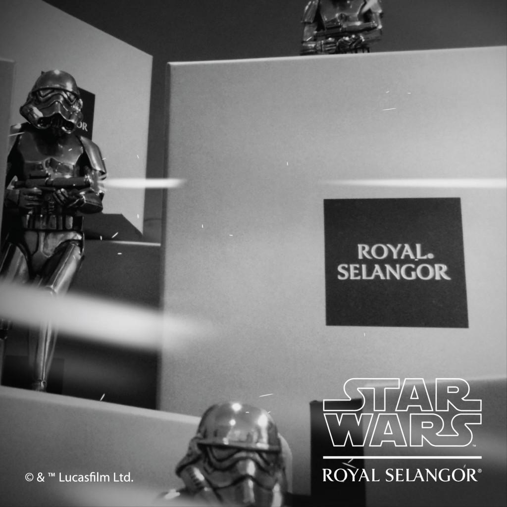 Star Wars Royal Selangor - Stormtroopers