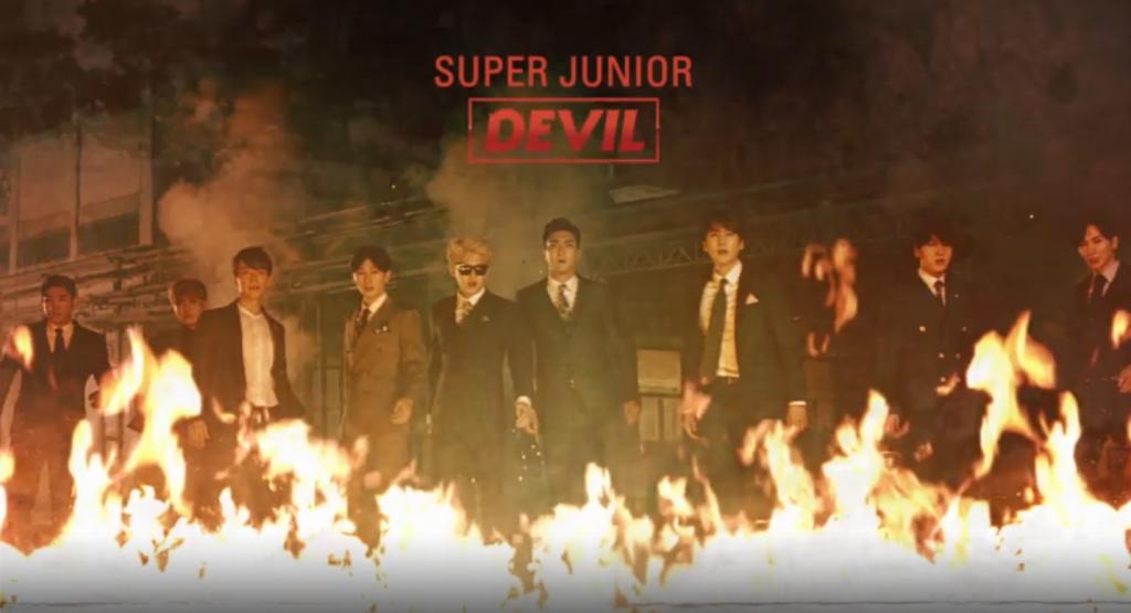 Super Junior Devil MV