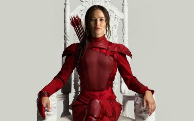 The Hunger Games Mockingjay Part 2 - Jennifer Lawrence as Katniss Everdeen