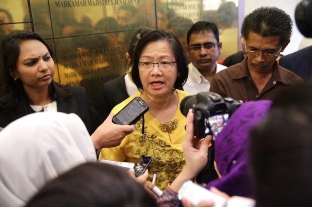 Bersih 2.0 Chairman Maria Chin Abdullah