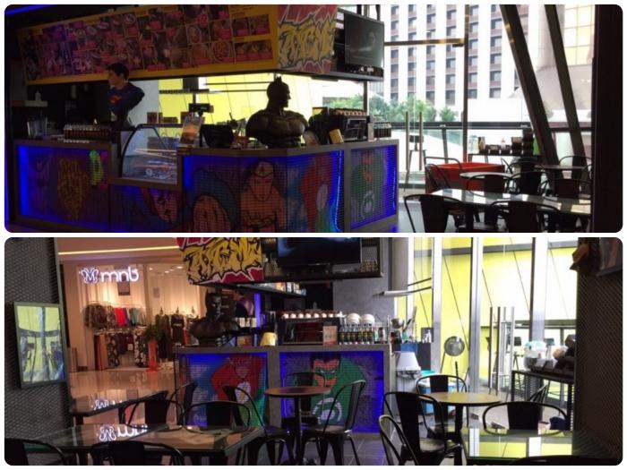 DC Comics Super Heroes Cafe Sunway Putra Mall