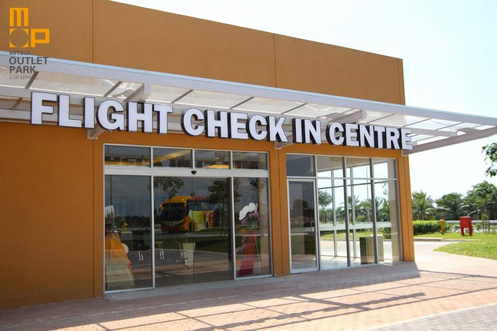 MOP KLIA Flight Check In Centre