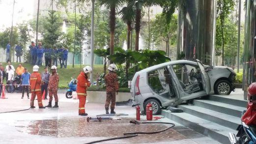 Perodua Viva Bangsar South Fire
