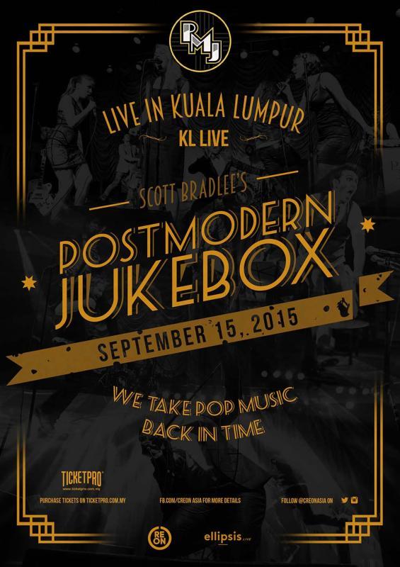 Postmodern Jukebox Live in KL