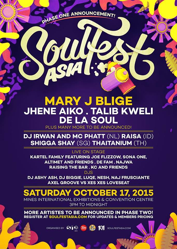 Soultfest Asia 2015 Malaysia