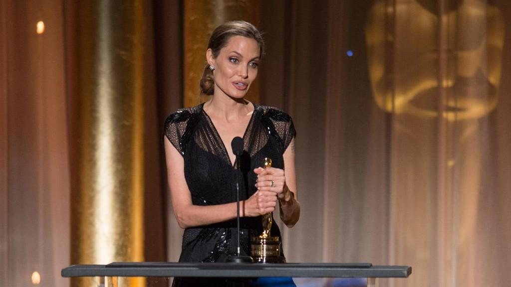 Angelina Jolie Jean Hersholt Humanitarian Award