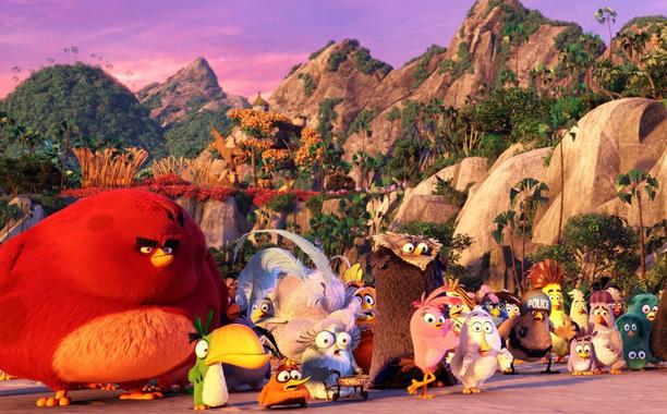 Angry Bird Movie Still