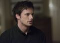 "iZombie -- ""Maternity Liv"" -- Image Number: ZMB107A _0063 -- Pictured: Bradley James as Lowell Tracey -- Photo: Diyah Pera/The CW -- © 2015 The CW Network, LLC. All rights reserved."