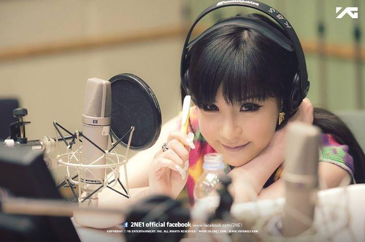 2NE1 Park Bom 2014