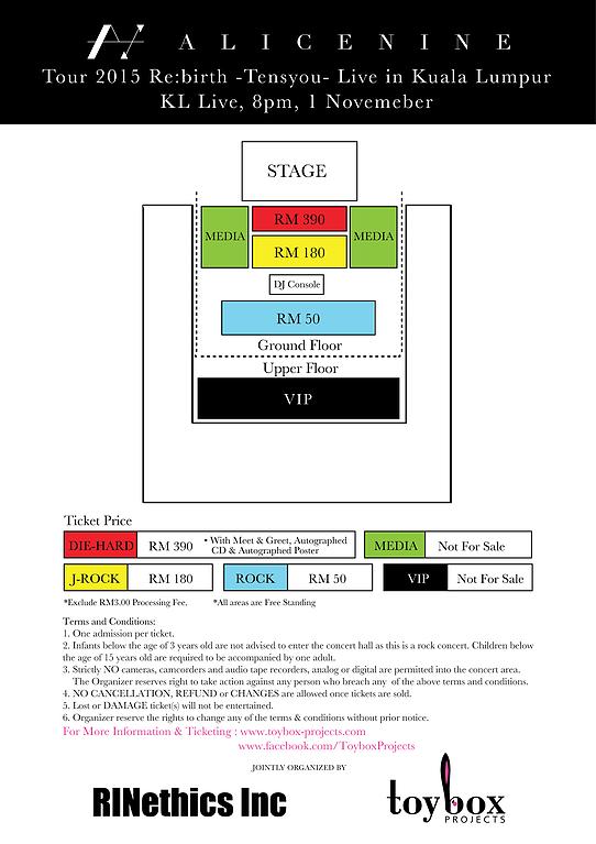 Alice Nine KL Live 2015