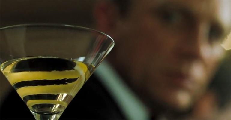 Daniel Craig Vodka Martini