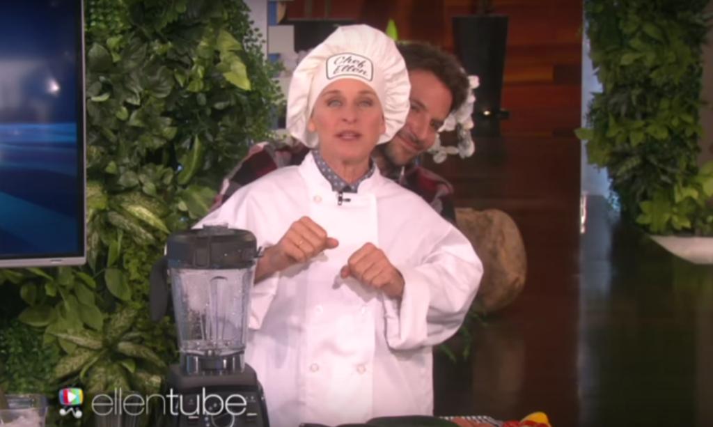 Ellen DeGeneres Bradley Cooper