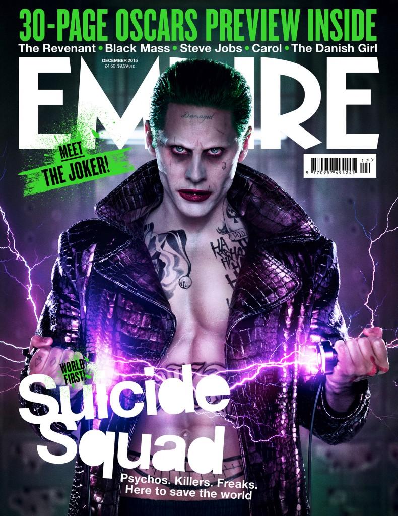 Empire Magazine Cover 2015 The Joker Suicide Squad