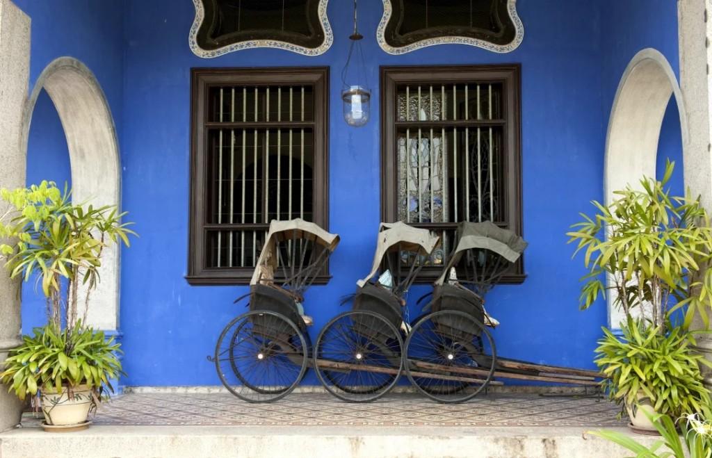 Georgo Town Penang Blue Mansion