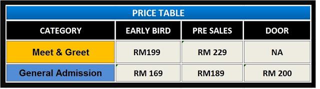 Lenka Live In Kuala Lumpur 2015 Price