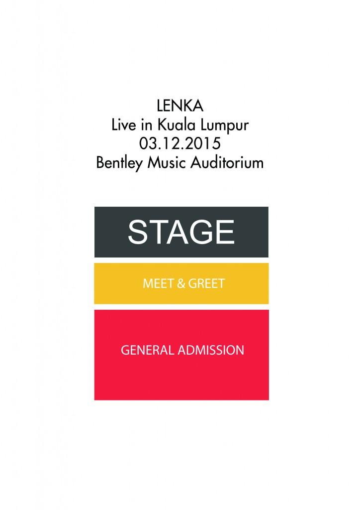 Lenka Live In Kuala Lumpur Seating Layout