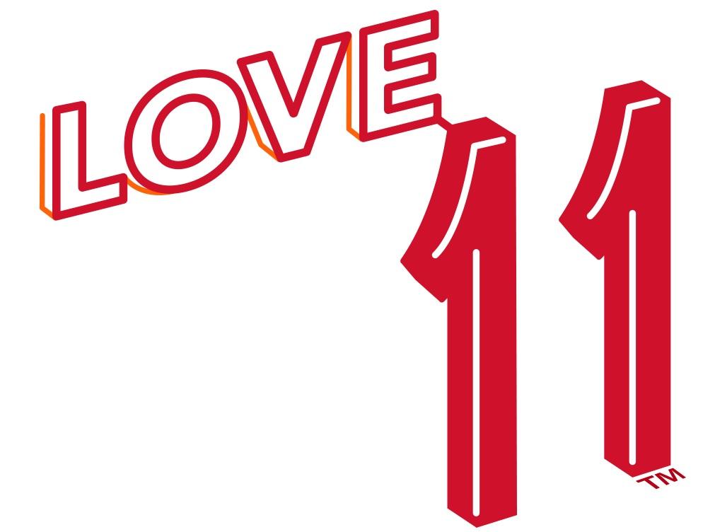 Love 11 Masthead