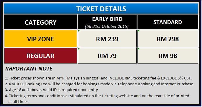 Retrofest Asia 2015 Tickets