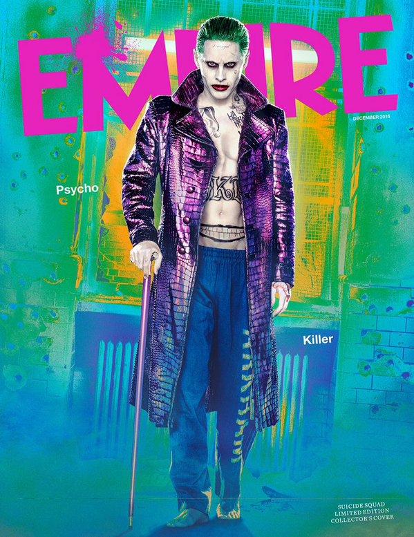 Suicide Squad Empire Magazine Cover - The Joker