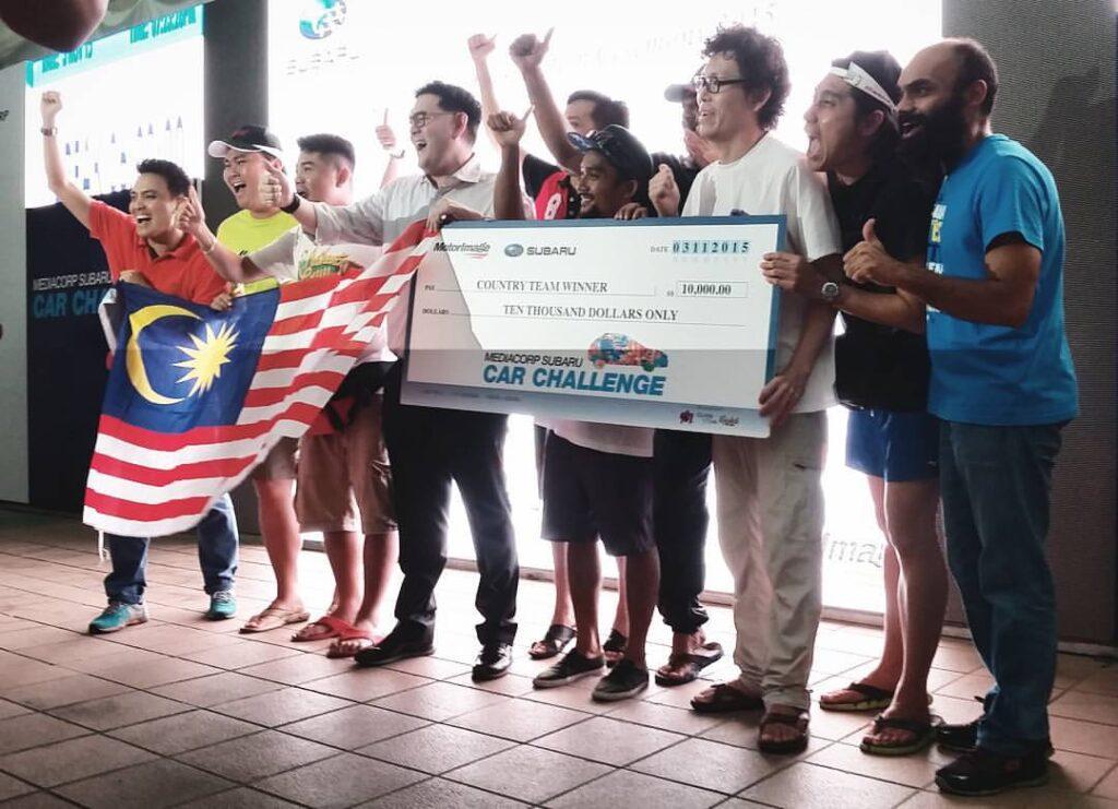 2015 Subaru Palm Challenge Team Malaysia