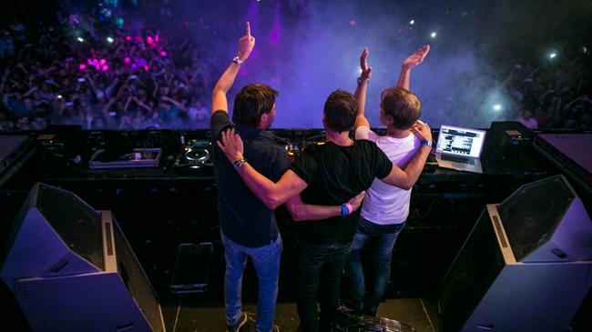 Armin van Buuren, Maykel Piron, and David Lewis