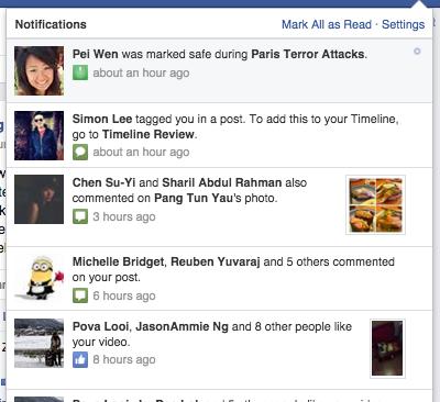Facebook Paris Attack Check In Feature
