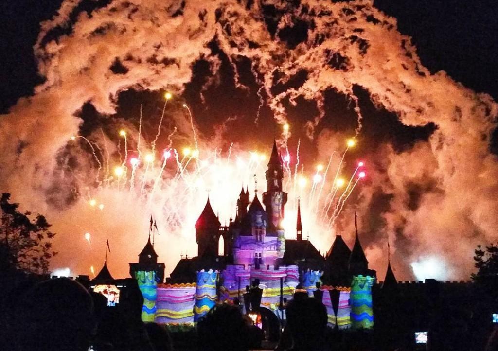 Hong Kong Disneyland 10th Anniversary Fireworks
