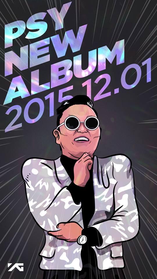 PSY New Album 2015