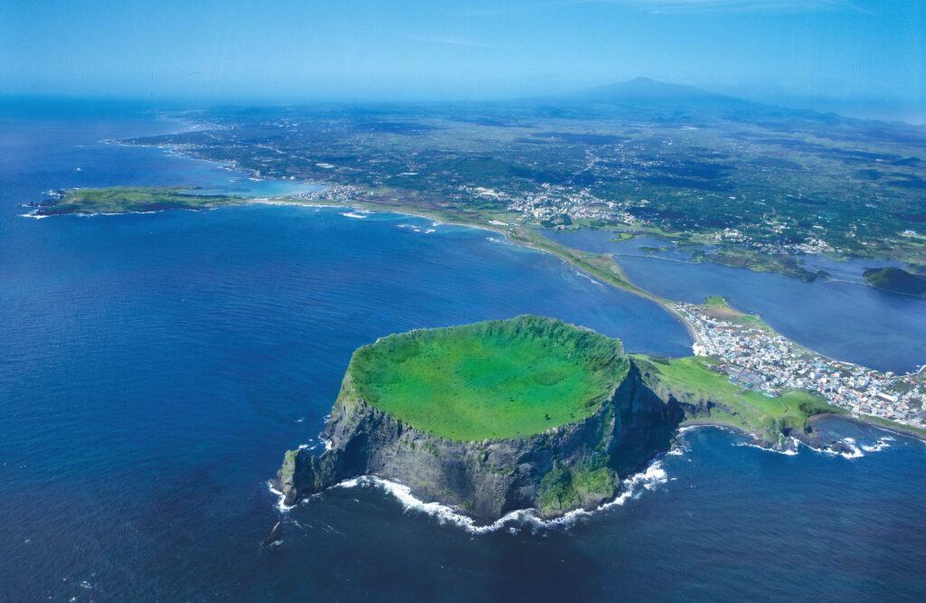 Sunrise Peak Jeju Island