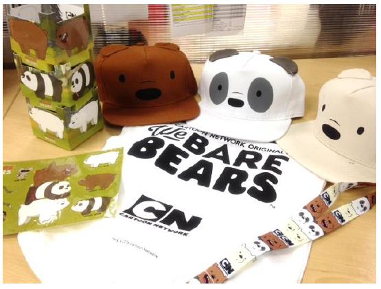 We Bare Bears Merchandise