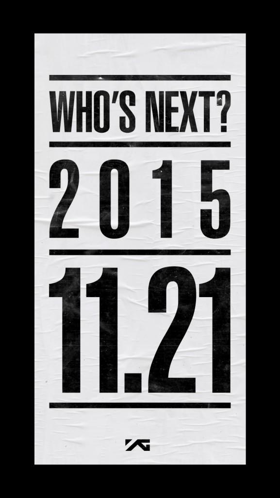 YG Who's Next November 2015