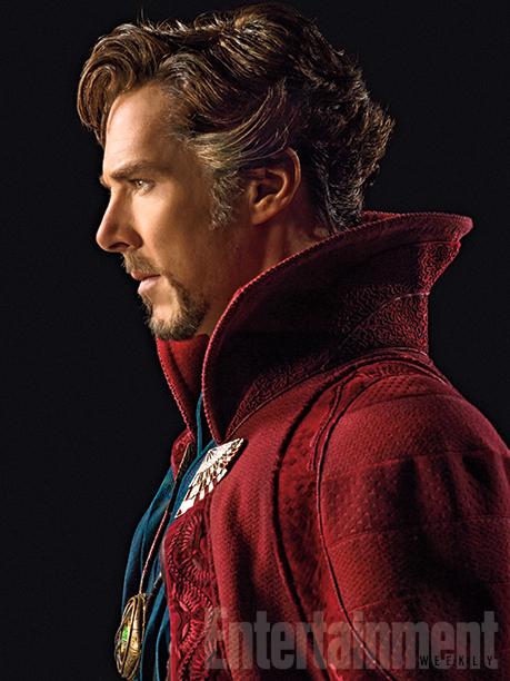 Benedict Cumberbatch as Doctor Stephen Strange on EW