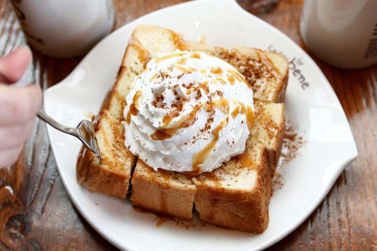 Caffebene Toast