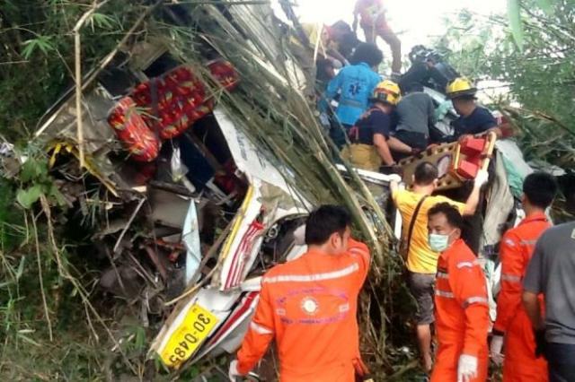 Chiang Mai Tourist Bus Crash