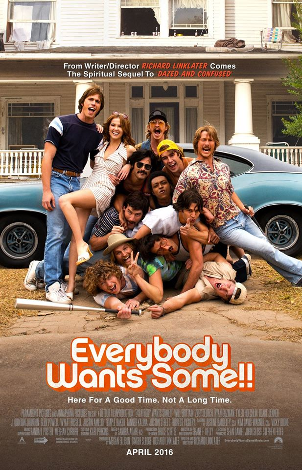 Everybody Wants Some Official Poster