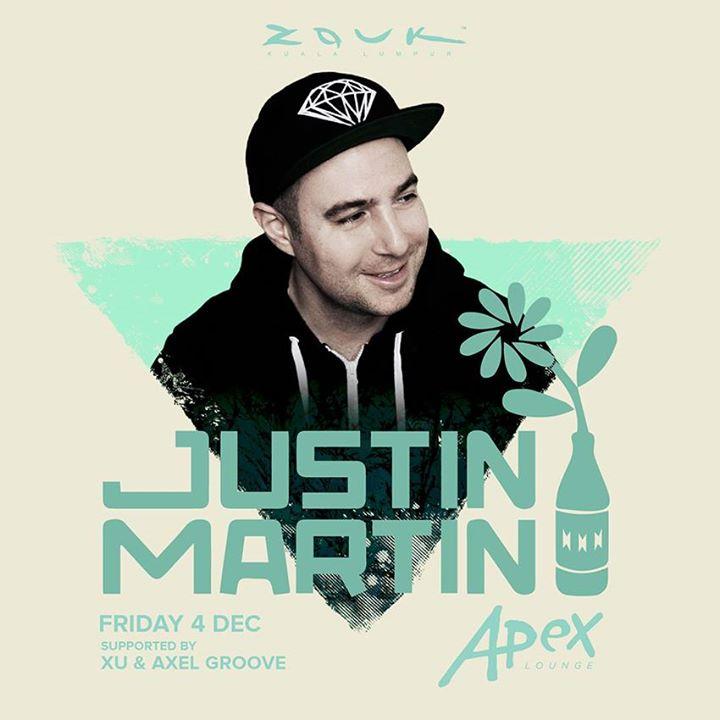 Justin Martin at APEX Lounge