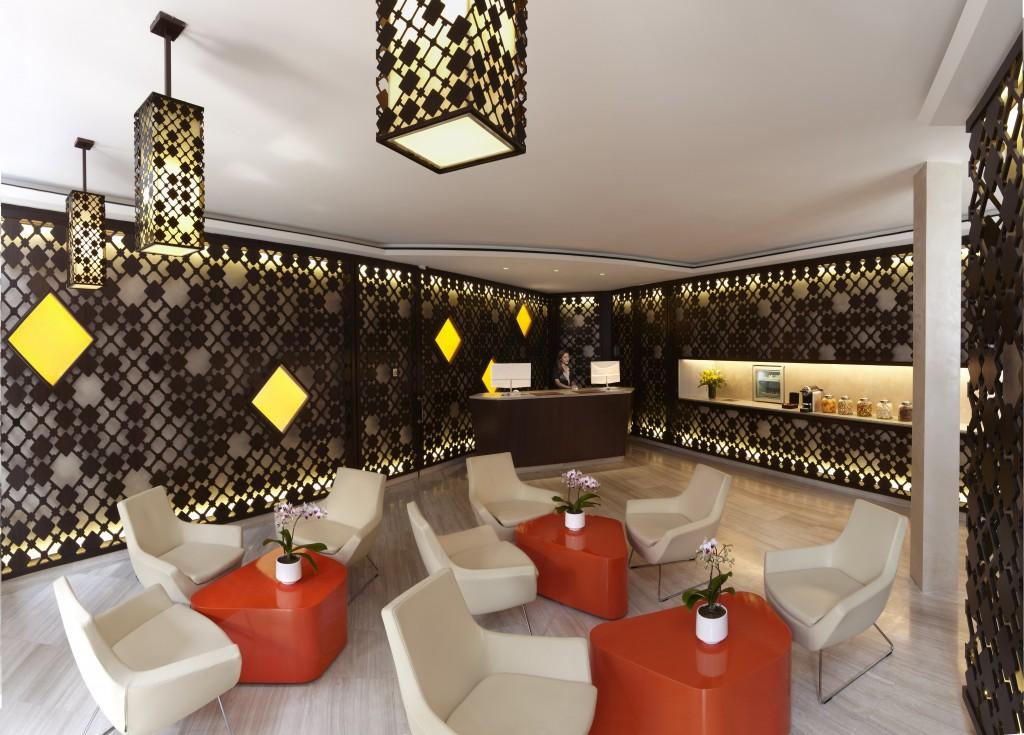 Lobby and Reception Area at Naumi Liora Hotel