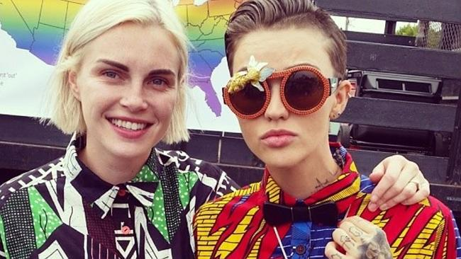Hollywood Oitnb Star Ruby Rose Phoebe Dahl Call Off Engagement