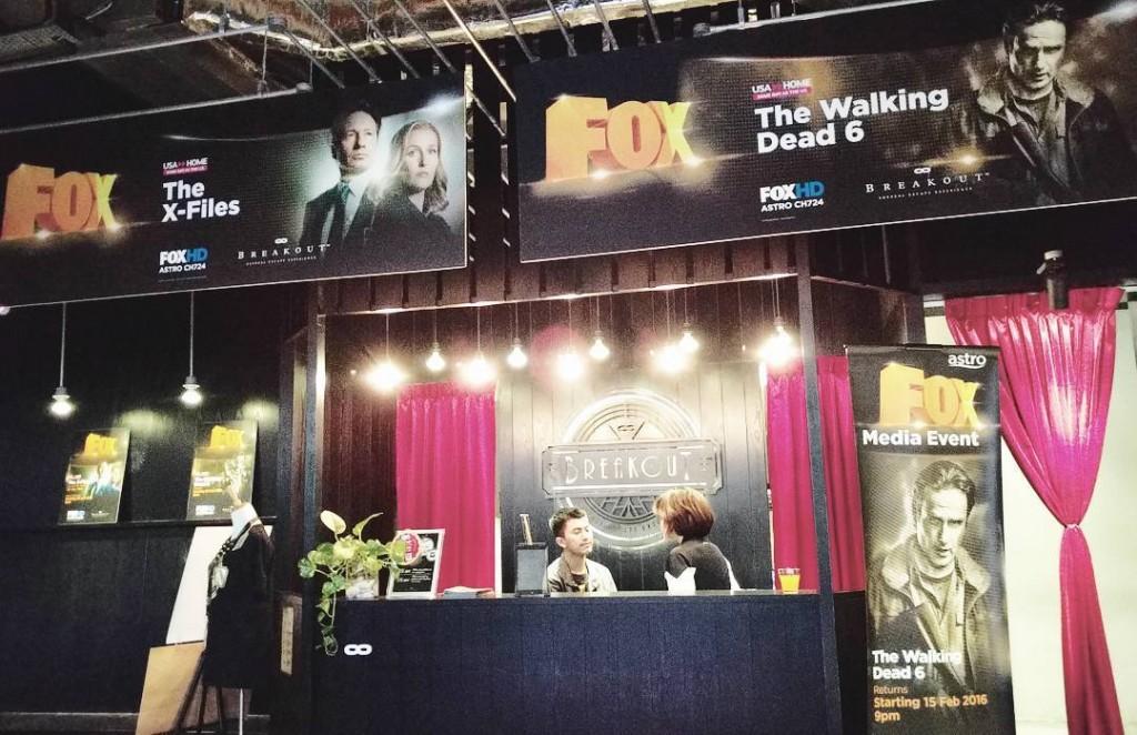 Breakout Malaysia FOX Themed Room