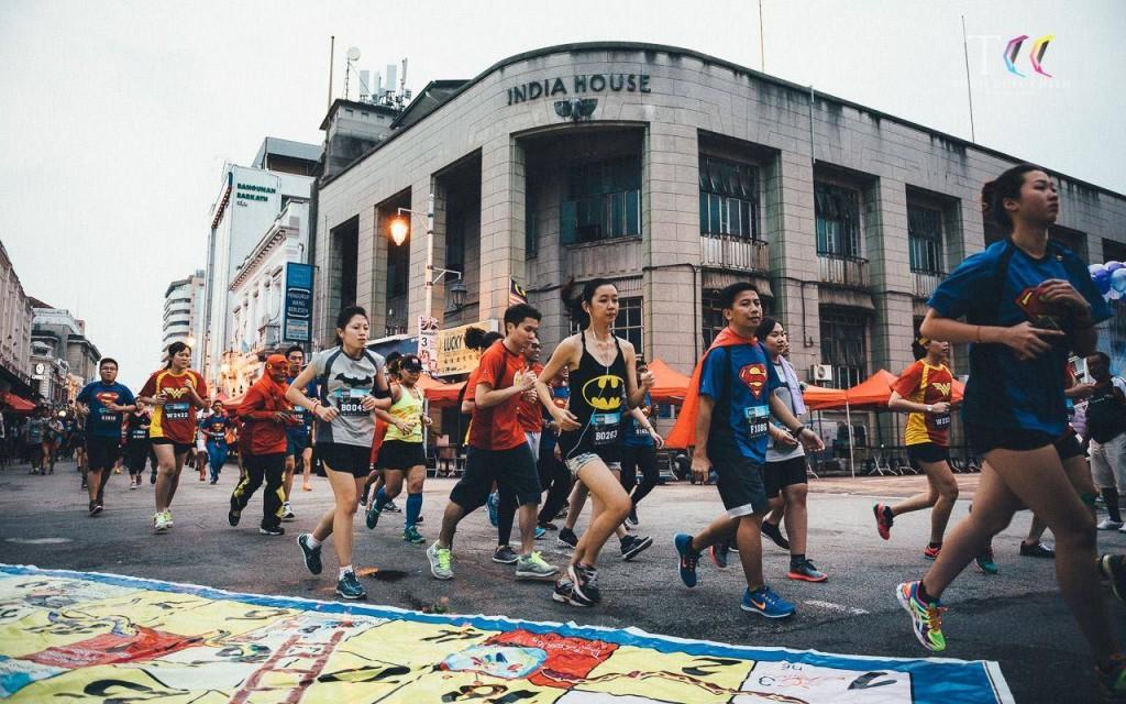 Justice League Run Malaysia