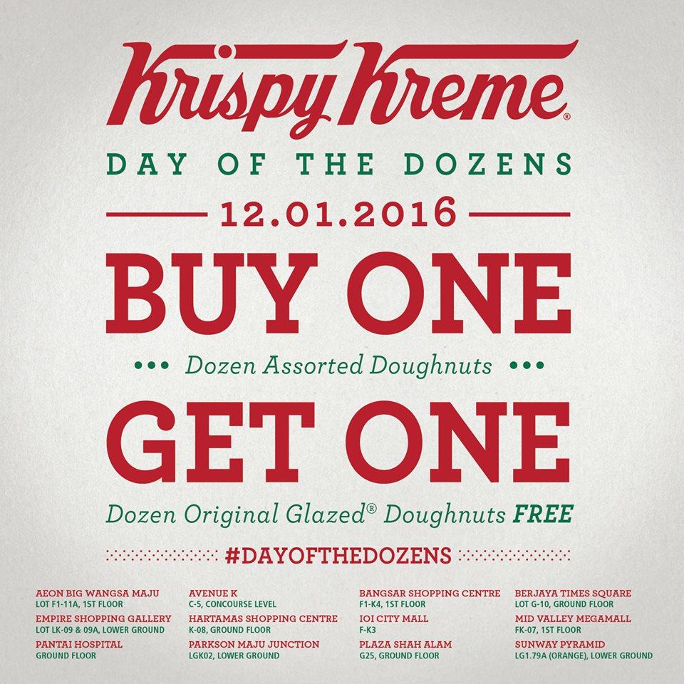 Source: Krispy Kreme Malaysia's Facebook page