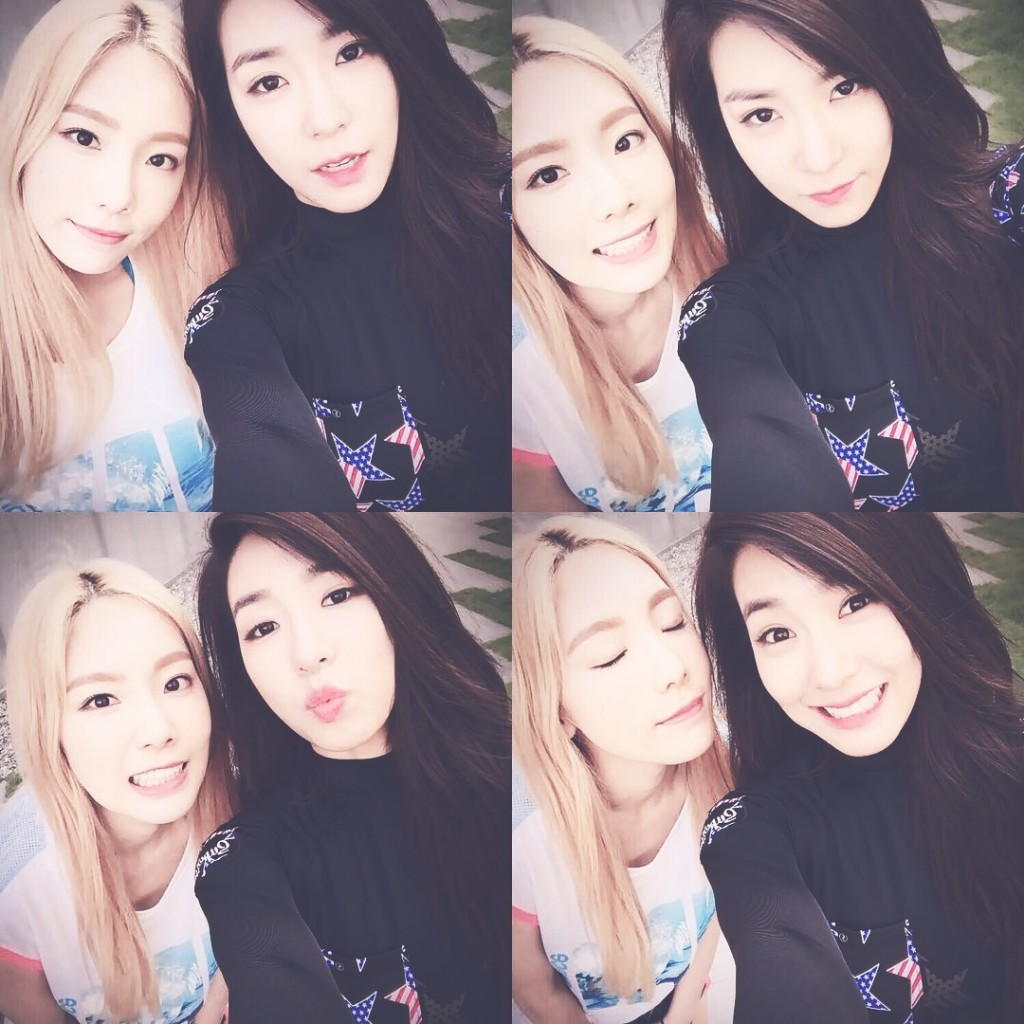 SNSD Girls' Generation's Taeyeon & Tiffany (Source: Tiffany's instagram)