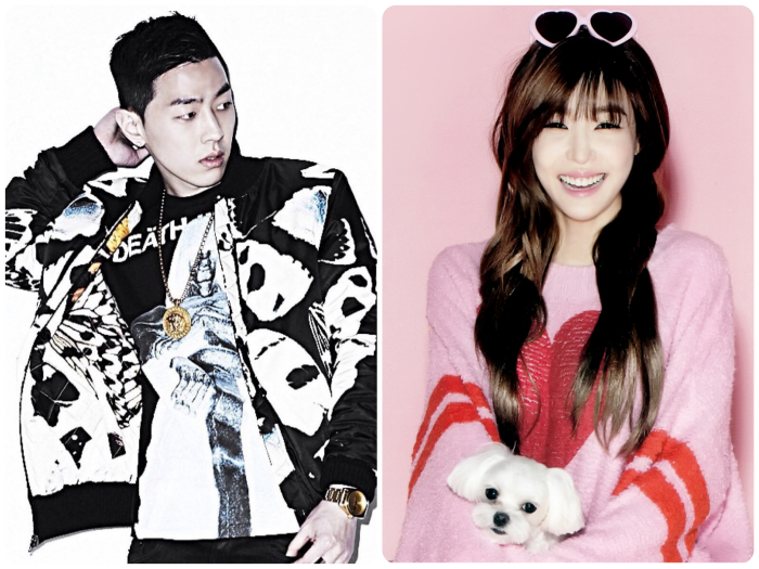 SNSD Tiffany AOMG GRAY