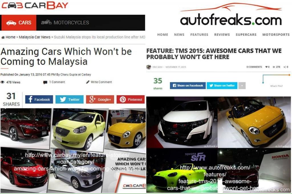 CarBay Malaysia autofreaks Plagiarism