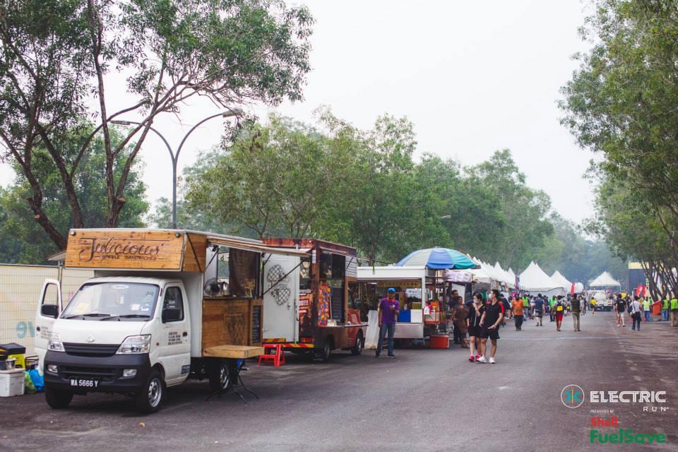 Electric Run Malaysia Food