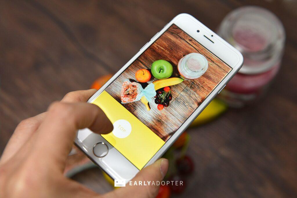 Line Foodie App